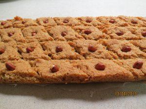 עוגיות בסבוסה עם סולת קוקוס בדבש