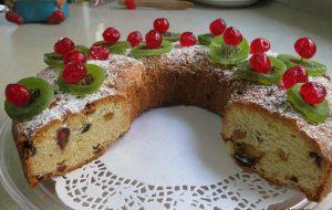 """עוגת ט""""ו בשבט חגיגית"""