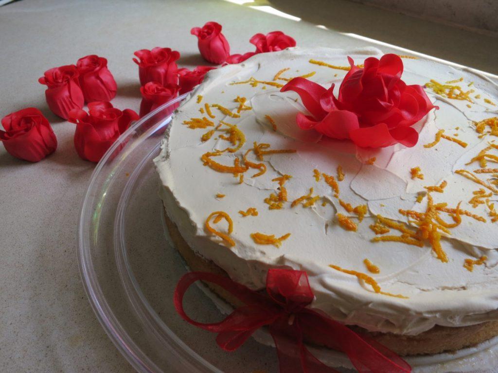 עוגת סברינה חגיגית - אפשר גרסת פרווה