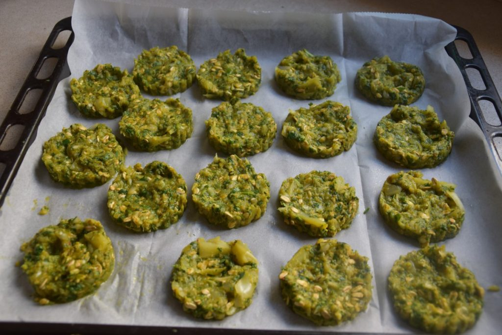 לביבות/קציצות ברוקולי שיבולת שועל - עם הרבה ירק