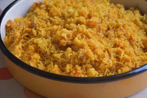 קצ'רי - תבשיל אורז עדשים מסורתי - דינה דיש