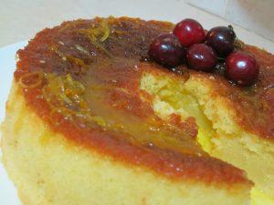 עוגת לימון תפוז - פרווה - דינה דיש