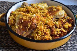 אורז פול עוף - קדירה מסורתית עירקית