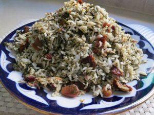 בחש - תבשיל אורז בוכרי